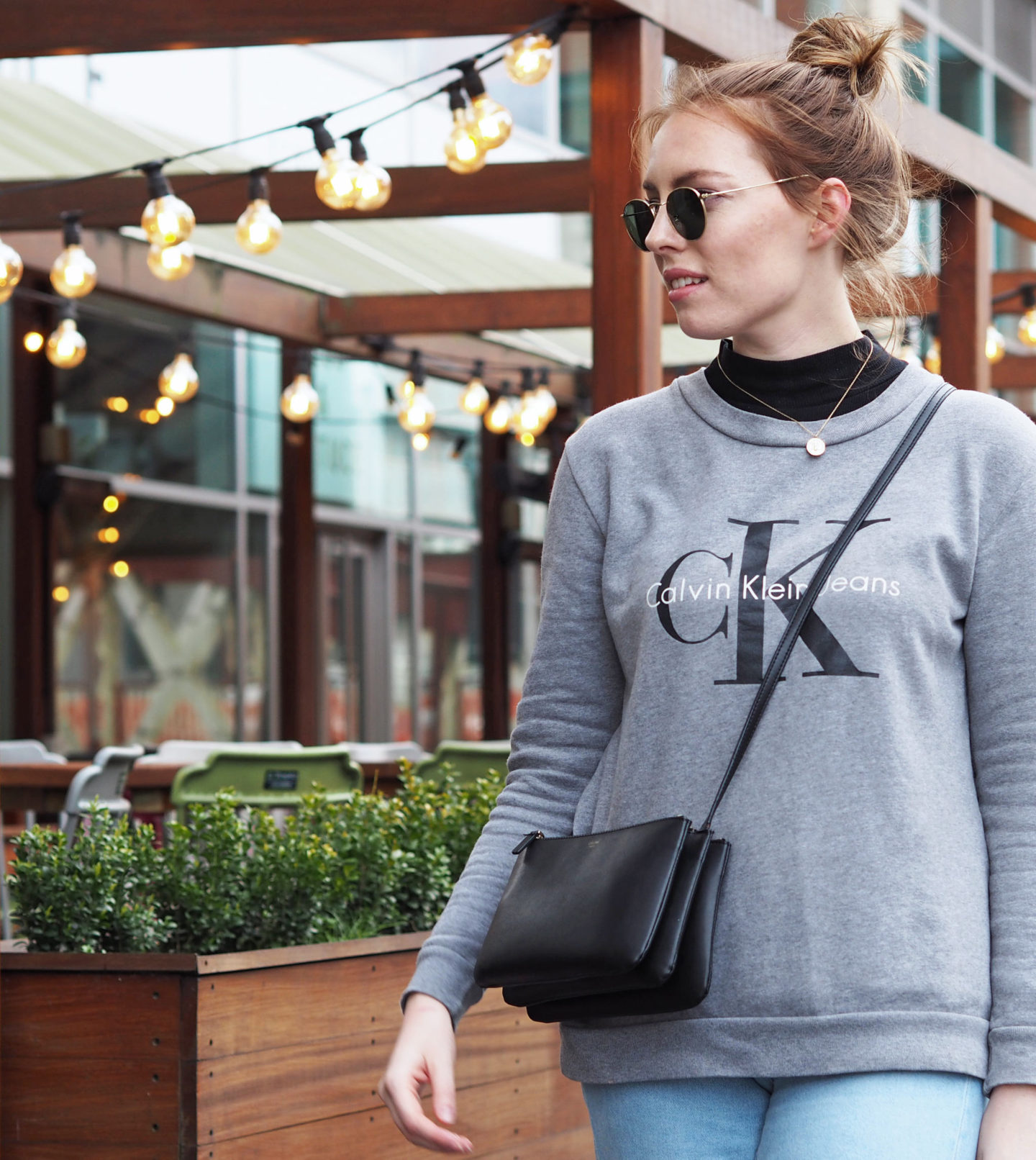 Calvin Klein Sweatshirt and Celine Trio
