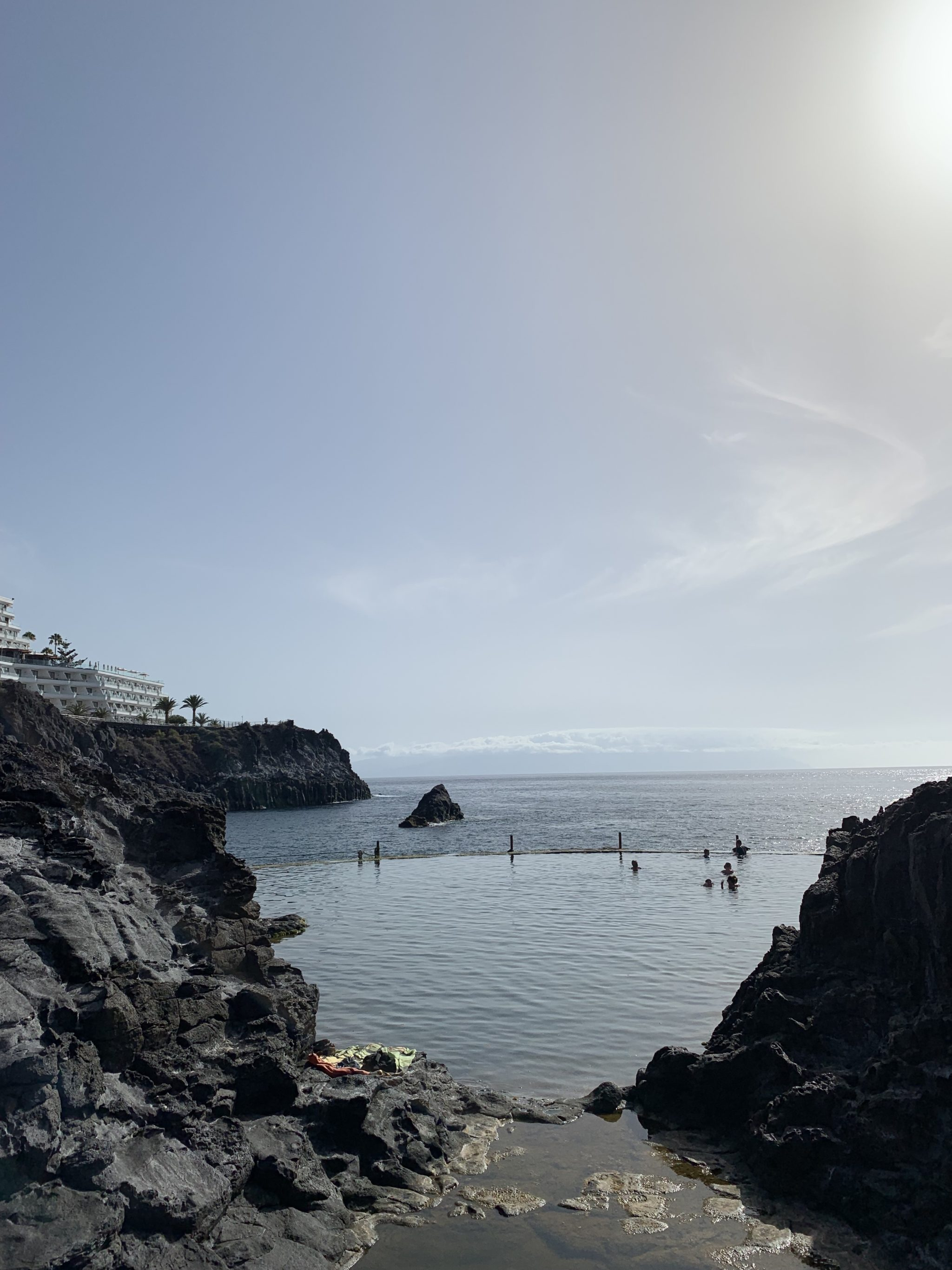 tenerife natural swimming pool