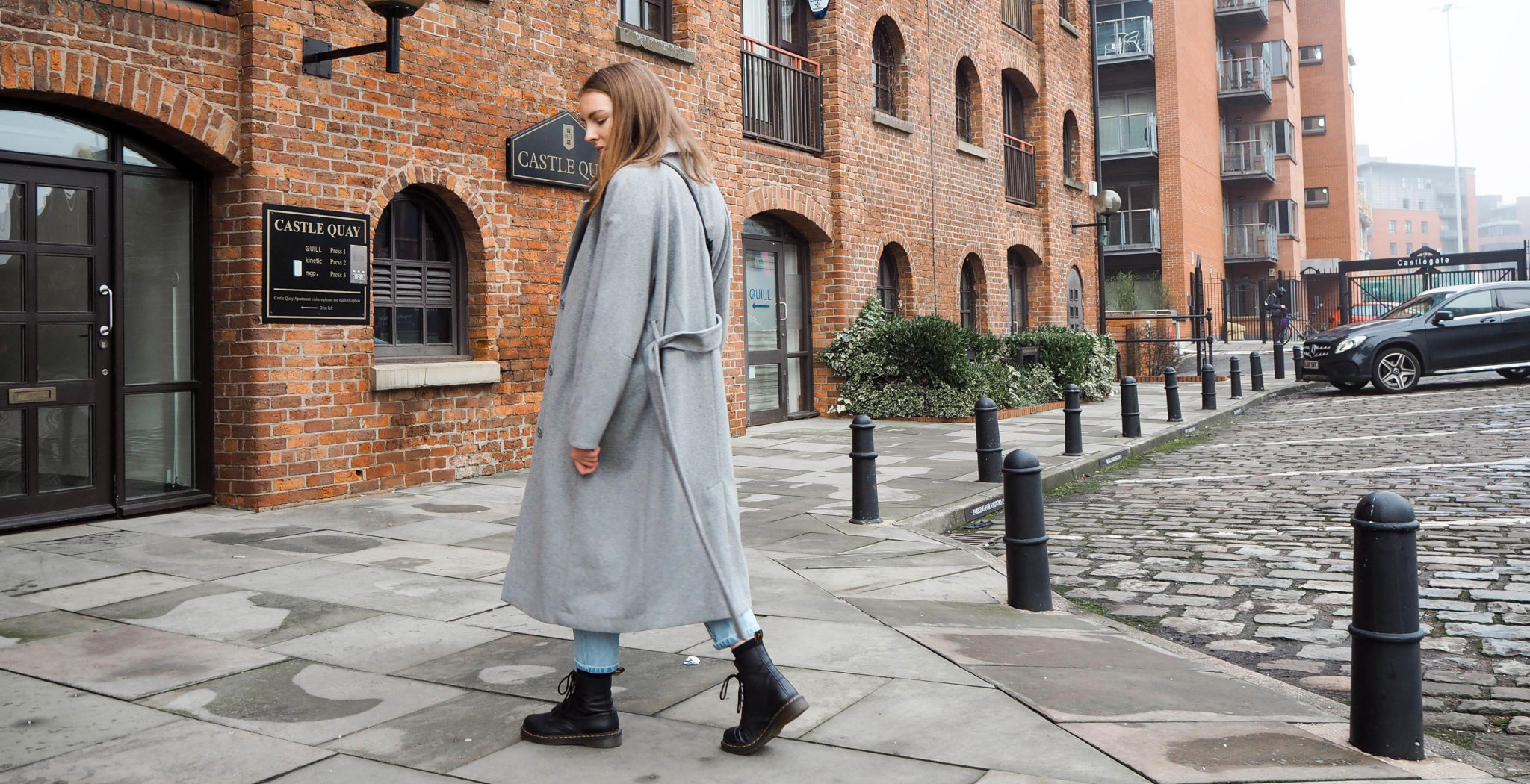 weekday recycled wool coat sustainable shopping
