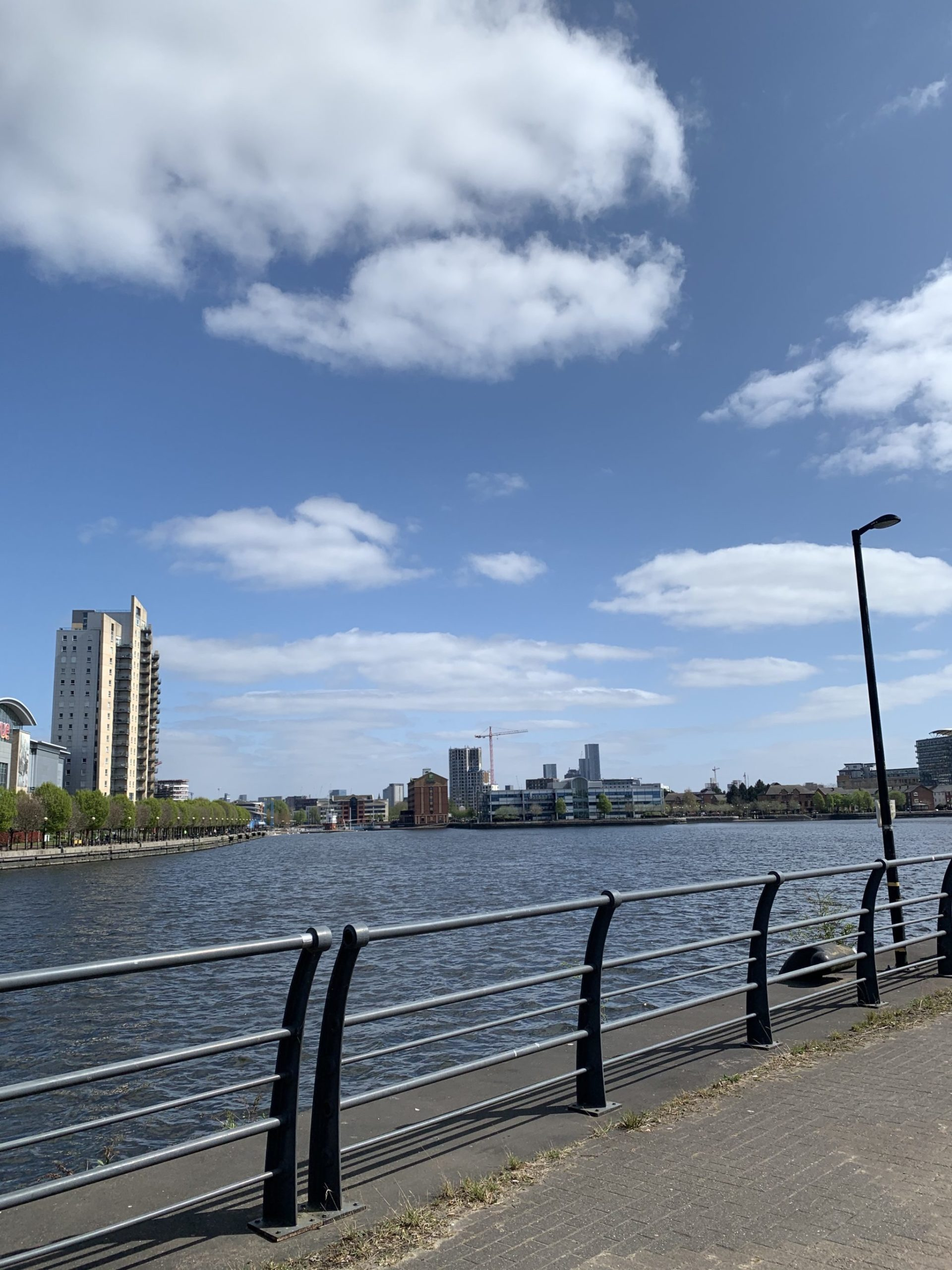 Salford Quays waterfront