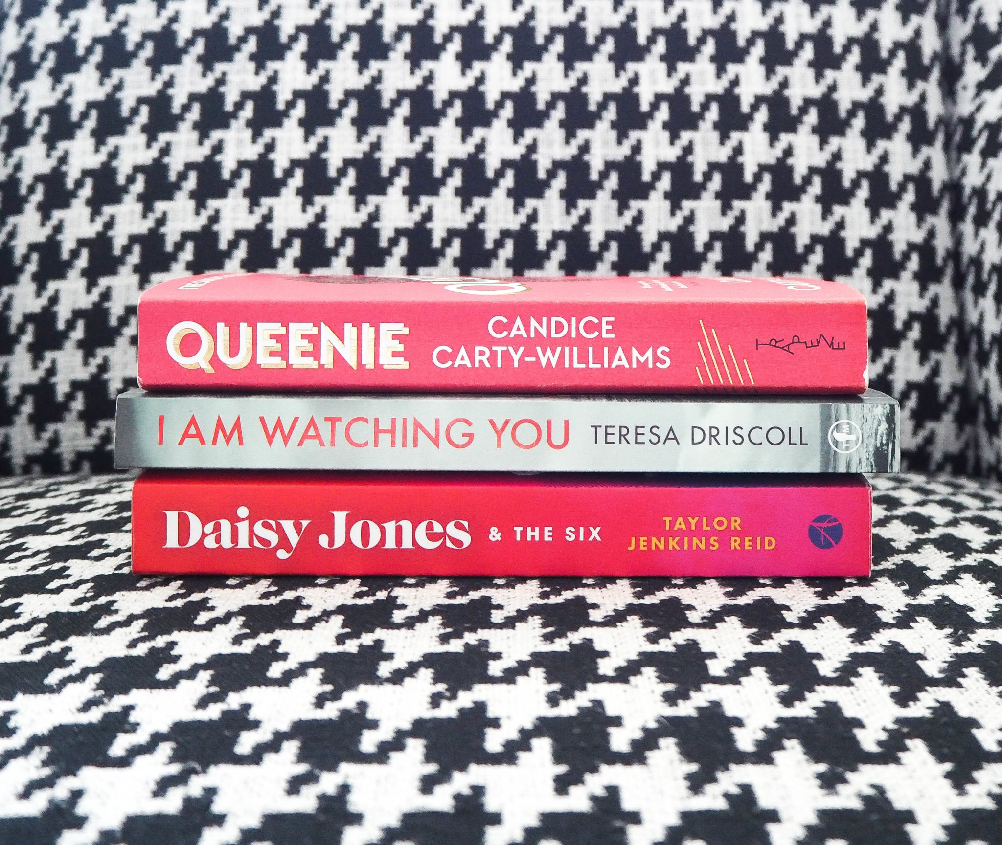 Queenie Candice Carty Williams I am watching you Teresa Driscoll Daisy Comes & The Six Taylor Jenkins Reid Isolation bookclub