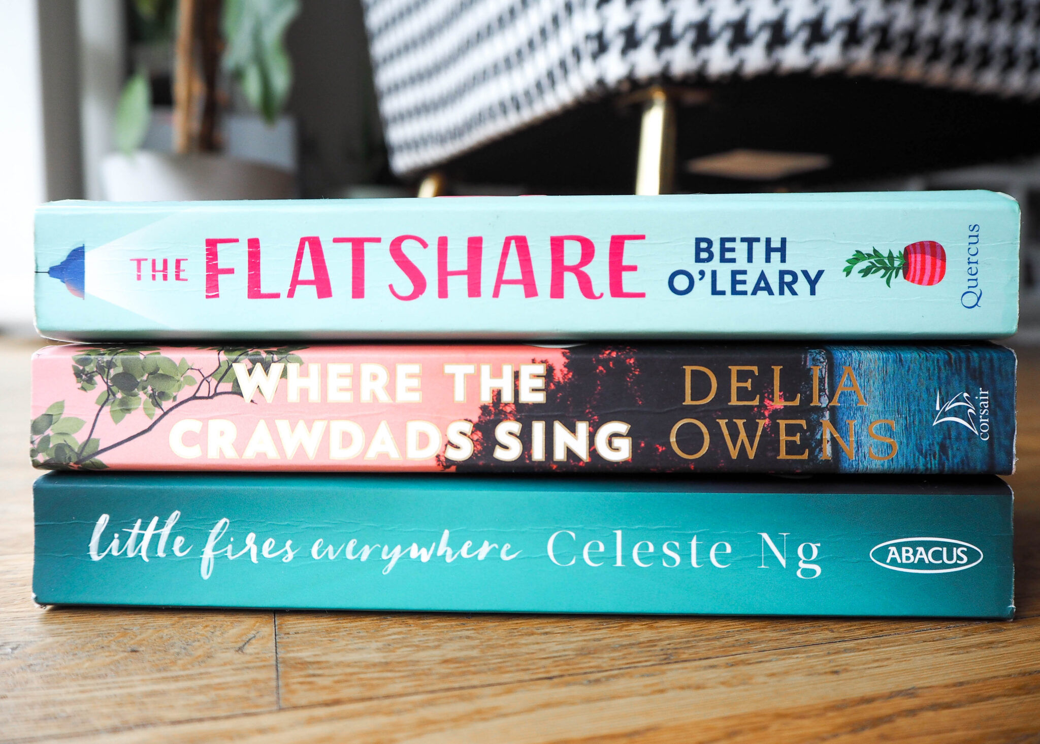 flat share beth o'leary where the crawdads sing delia owens little fires everywhere celeste ng lockdown reading